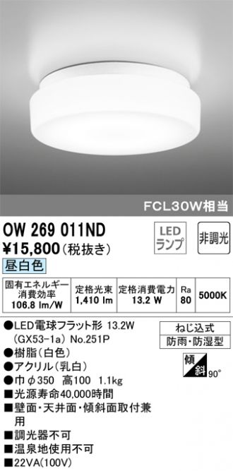 OW269011ND